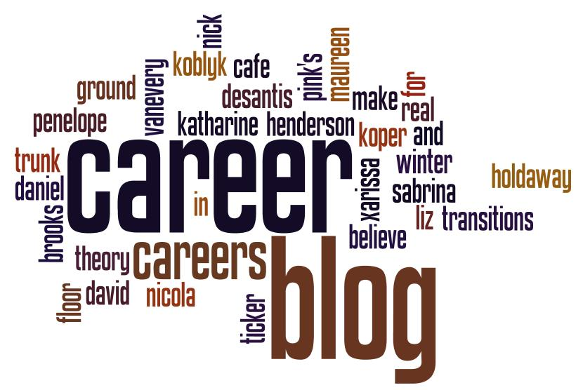 A career in blogging